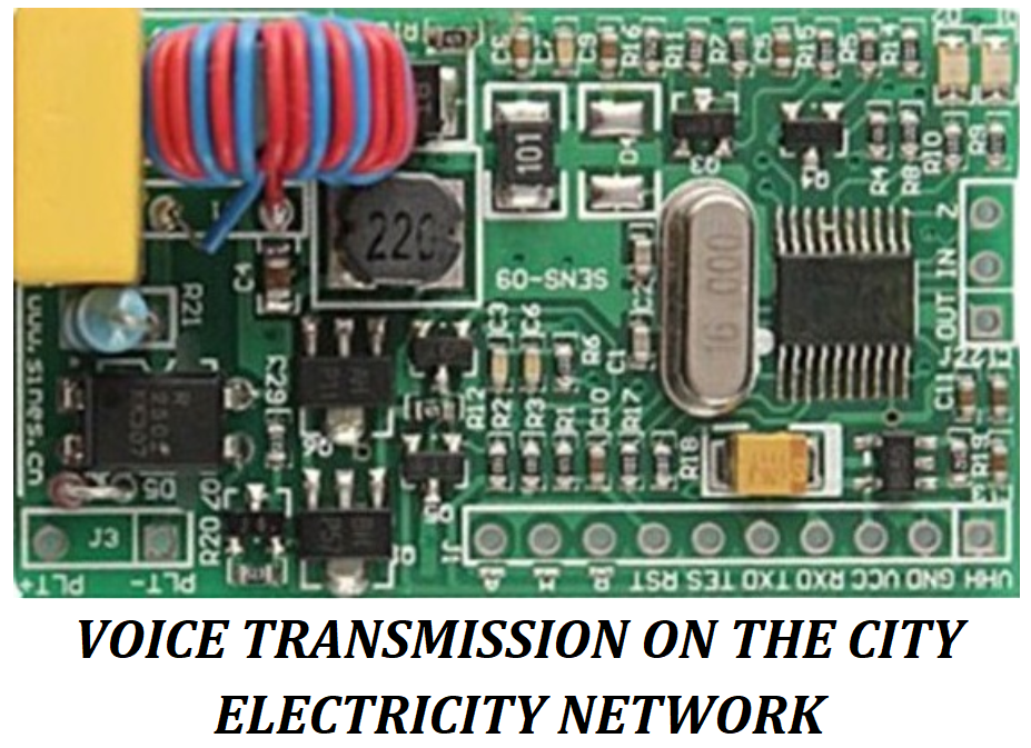 Voice Transmission on The City Electricity Network